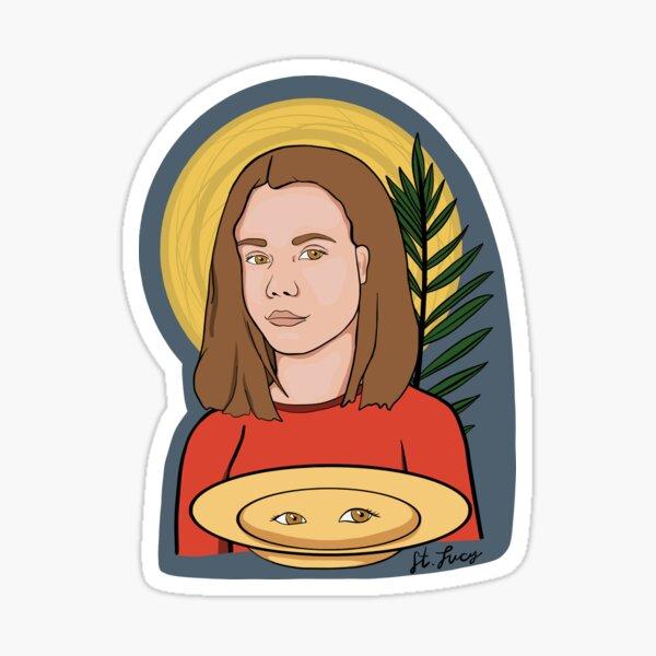 St. Lucy Sticker