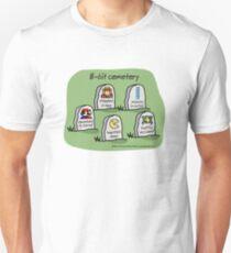 8-bit cemetery Unisex T-Shirt