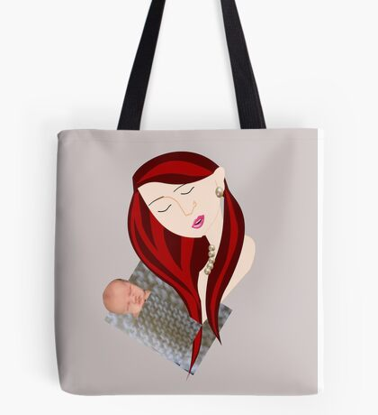 Mother with child (3100 Views ) Tote Bag