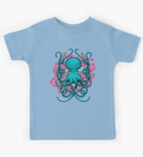Octupus & Coral Kids Tee