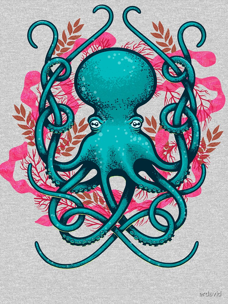 Octupus & Coral | Unisex T-Shirt