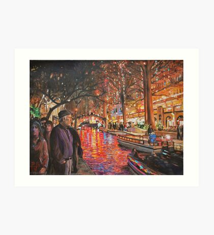 Riverwalk Art Print