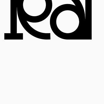 Rat ambigram by black-ink