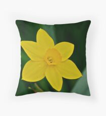 Daffodil  Throw Pillow