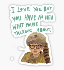 sam - moonrise kingdom  Sticker