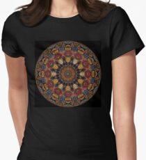 Ayahuasca Mandala Women's Fitted T-Shirt
