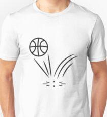Basketball sports ball jump T-Shirt