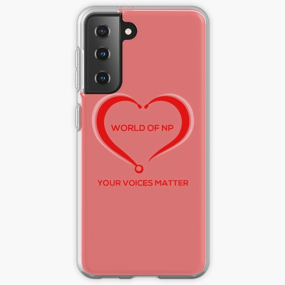 World Of NP Your Voices Matter Case & Skin for Samsung Galaxy