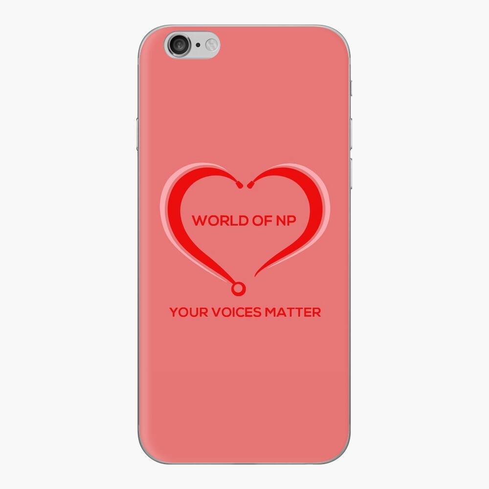 World Of NP Your Voices Matter iPhone Skin