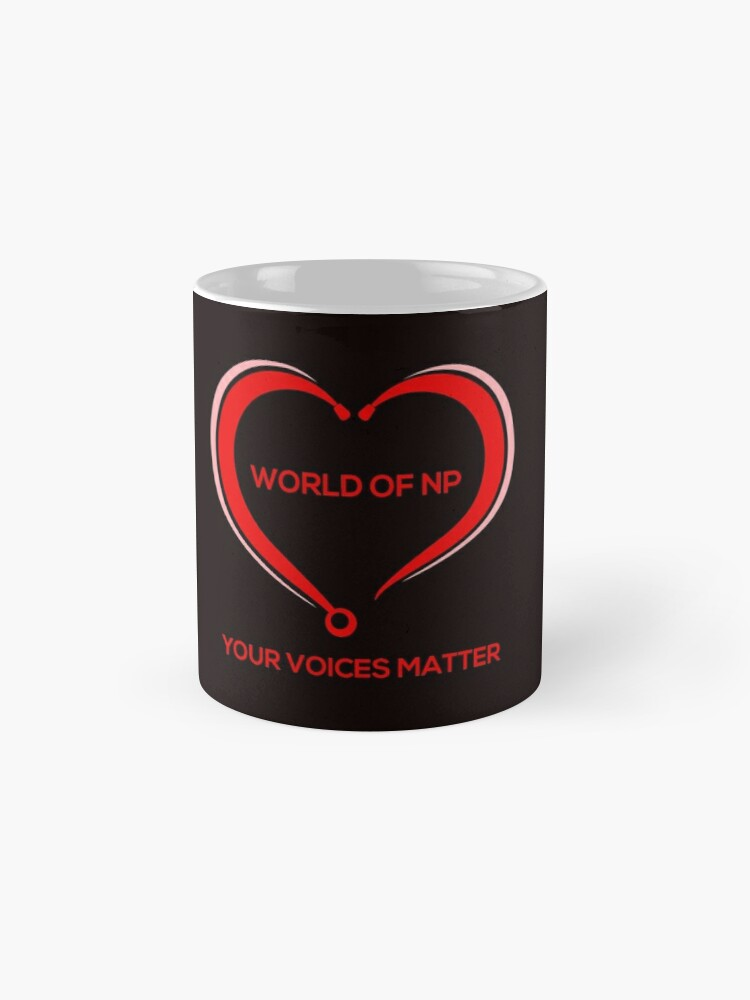 Alternate view of World Of NP Your Voices Matter Mug
