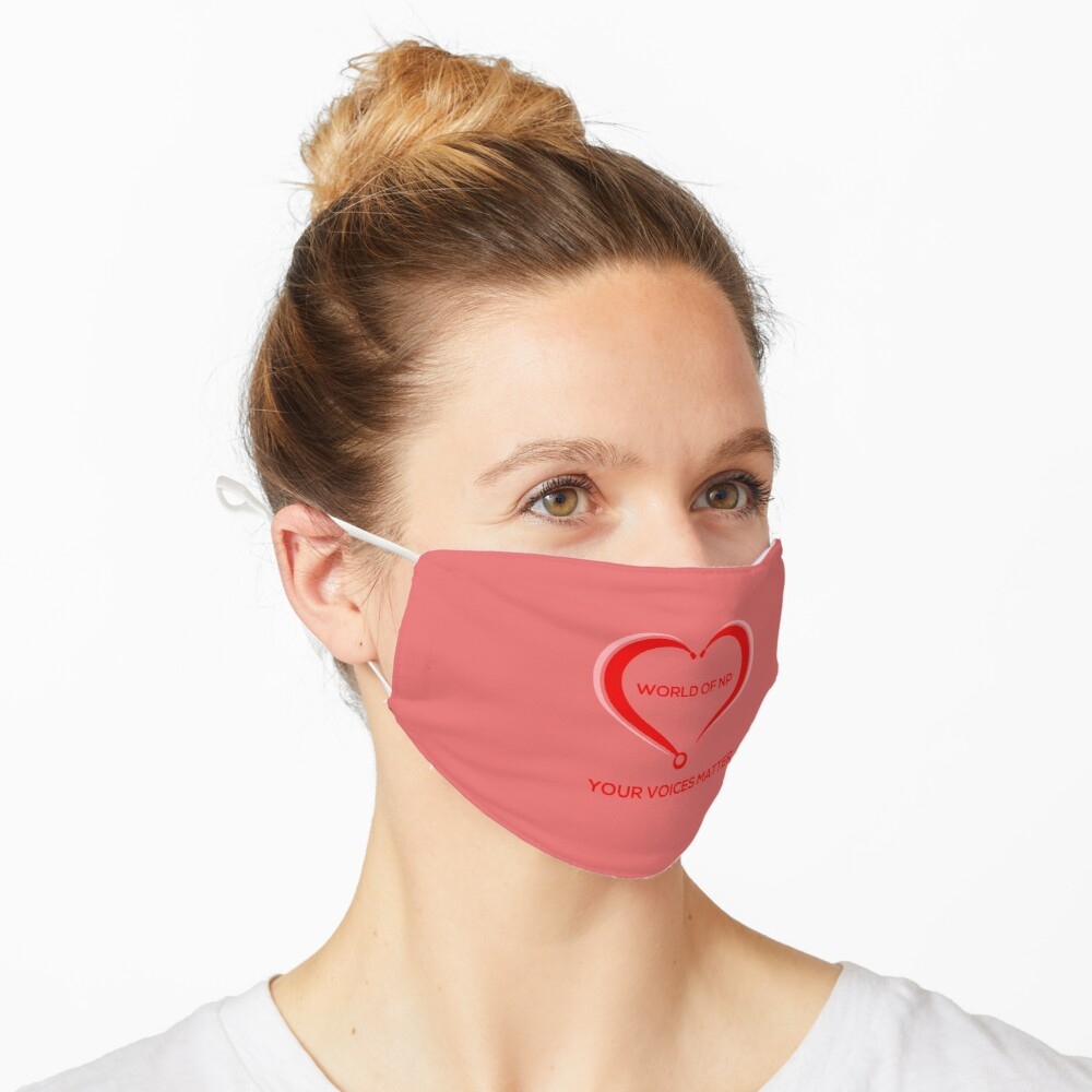 World Of NP Your Voices Matter Mask