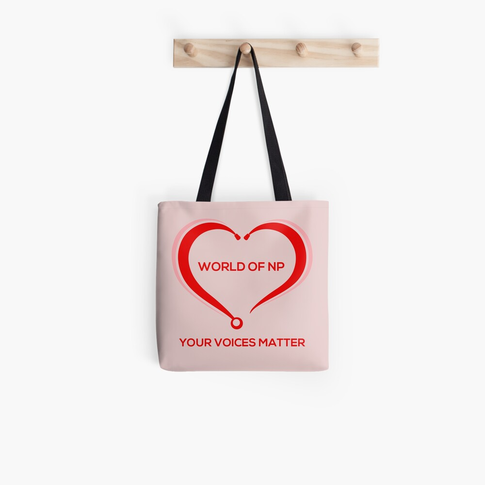 World Of NP Your Voices Matter Tote Bag