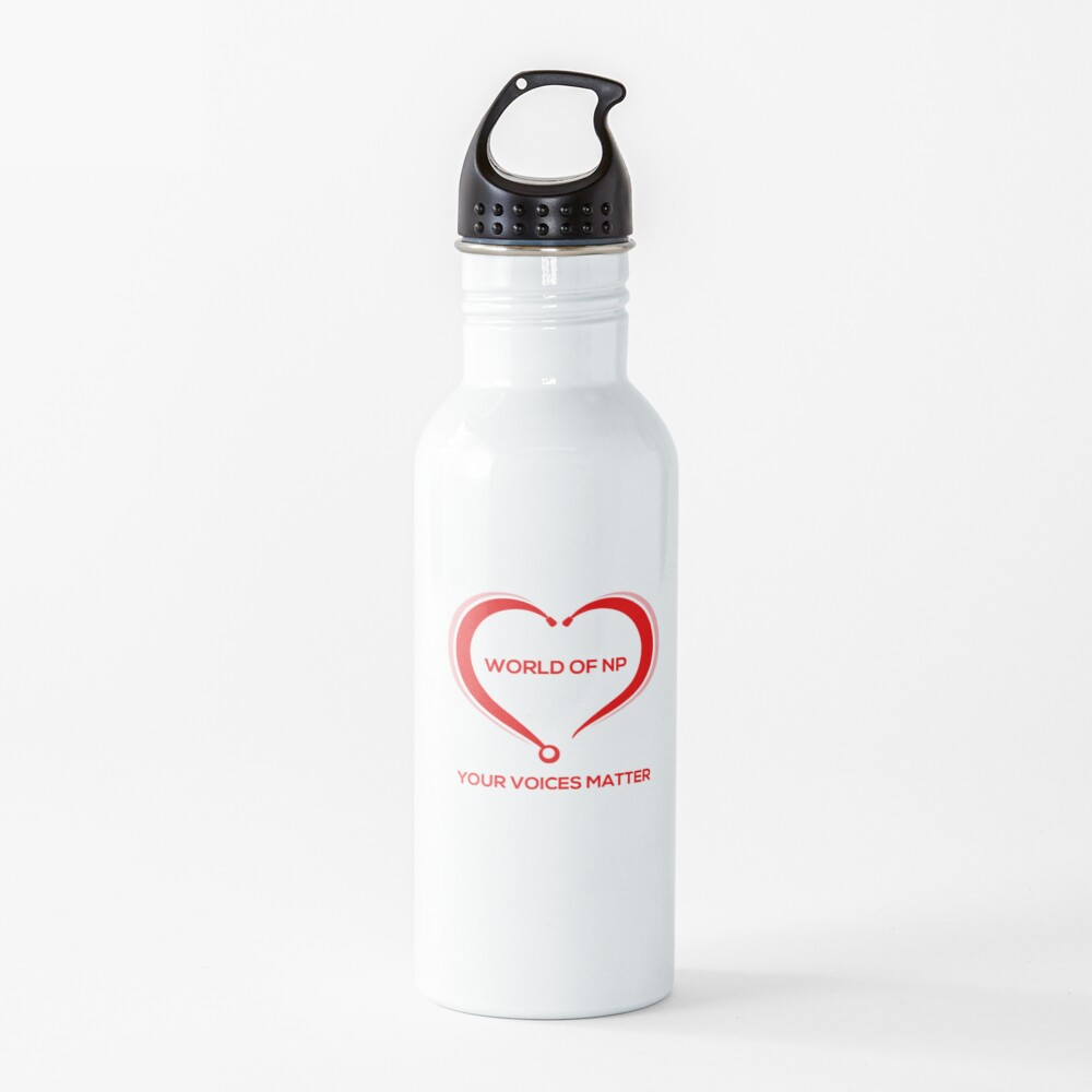 World Of NP Your Voices Matter Water Bottle
