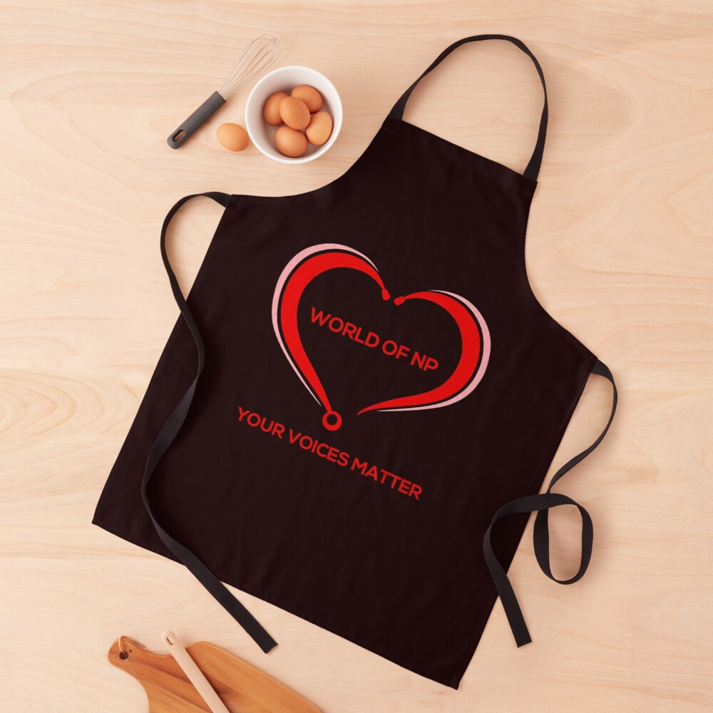 World Of NP Your Voices Matter Apron