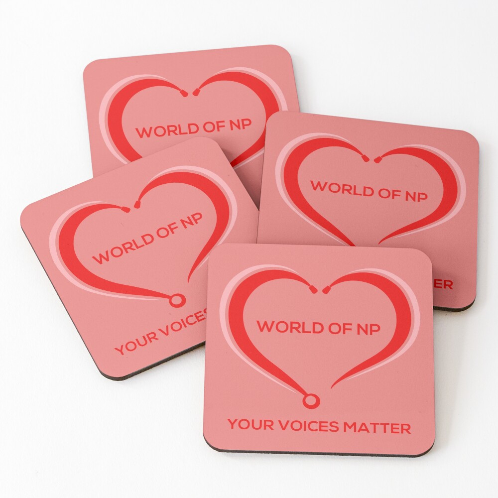 World Of NP Your Voices Matter Coasters (Set of 4)