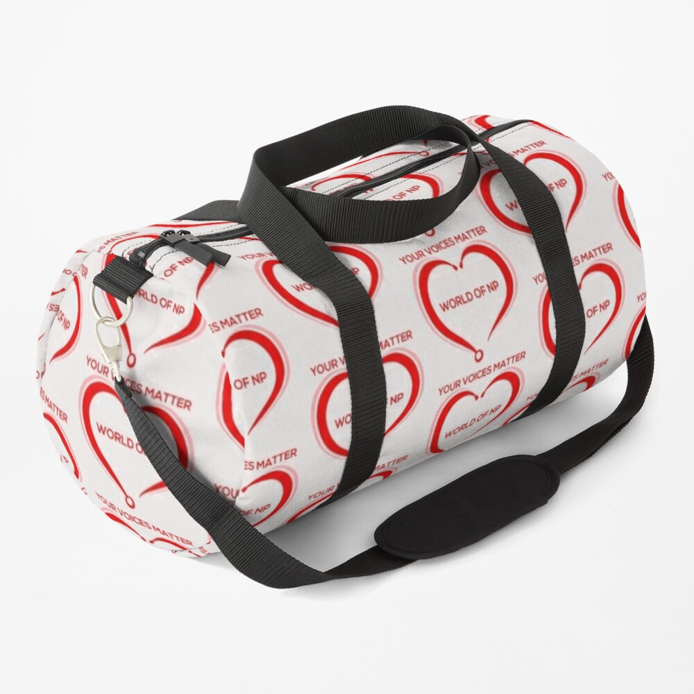 World Of NP Your Voices Matter Duffle Bag