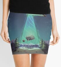 Abducted Mini Skirt