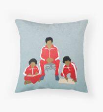 Chas, Ari, Uzi Throw Pillow