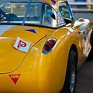 1956 Corvette Rear View by Stuart Row