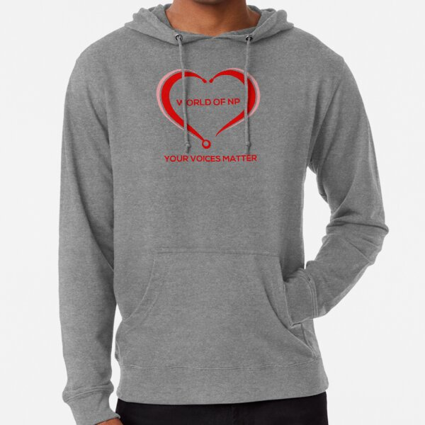 World Of NP Your Voices Matter Lightweight Hoodie