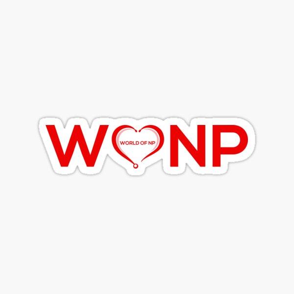 WONP World Of Nurse Practitioners Your Voices Matter Sticker