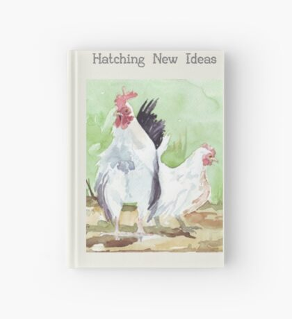 Hatching new ideas Hardcover Journal