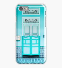Aqua Shophouse  iPhone Case/Skin