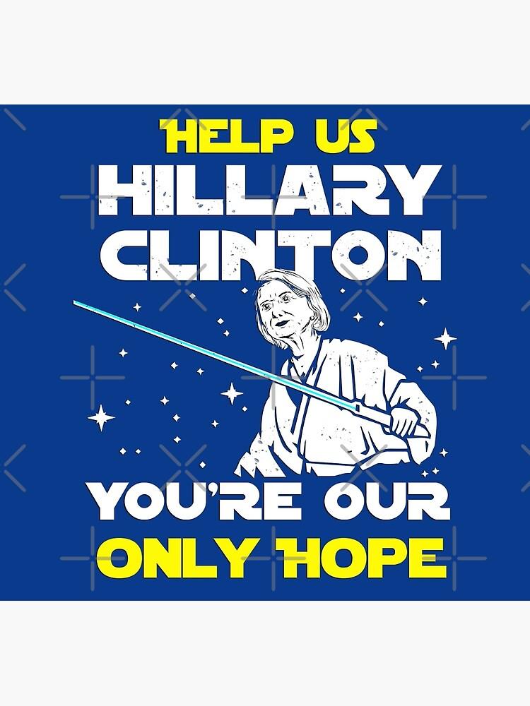 Rette uns Hillary! von MikeMcGreg