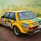 Garry Willmington XD Falcon - Rear View by Stuart Row