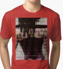Woman In Corset Tri-blend T-Shirt
