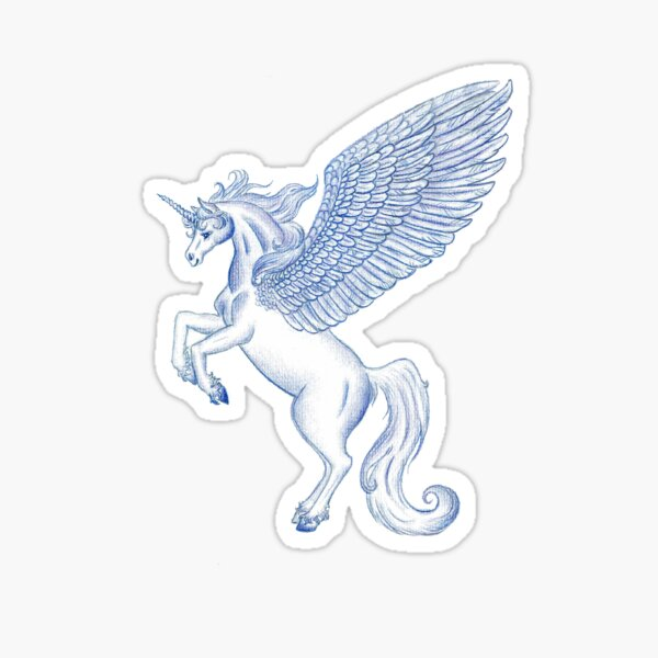 Unicorn Pegasus  Sticker
