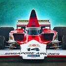 Formula 5000 Lola T332 by Stuart Row