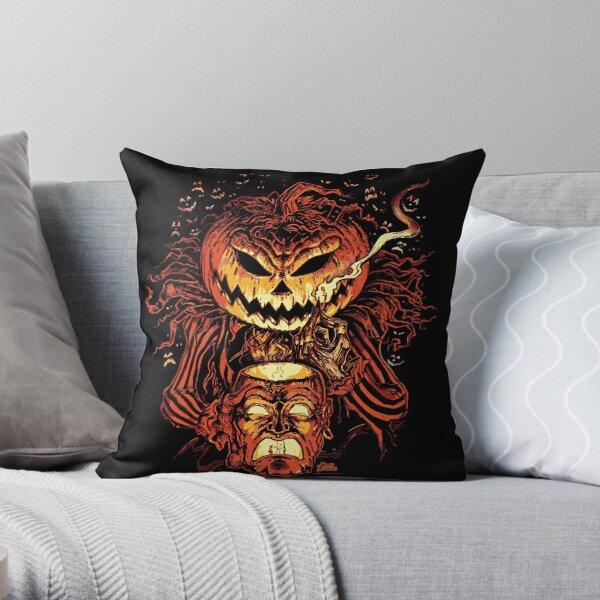 Pumpkin King Lord O Lanterns Throw Pillow