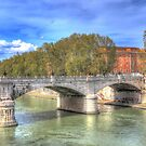 The Tiber in Rome by vivsworld