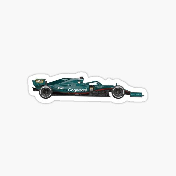 F1 Aston Martin Sticker