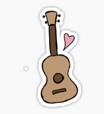 ukulele Sticker