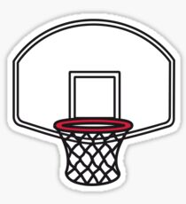Basketball basket Sticker