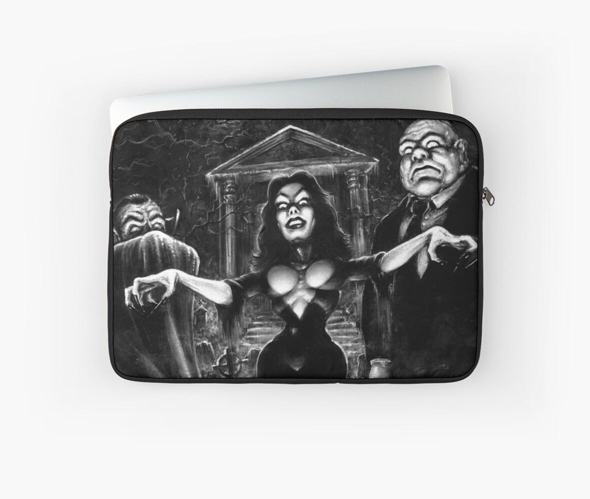 Vampira Plan 9 zombies by Scott Jackson