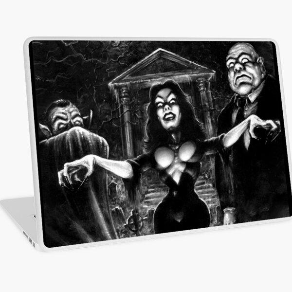 Vampira Plan 9 zombies Laptop Skin