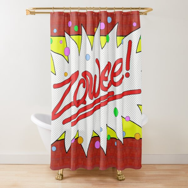 Zowee! Shower Curtain