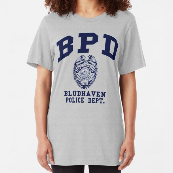 Bludhaven Police Department Slim Fit T-Shirt