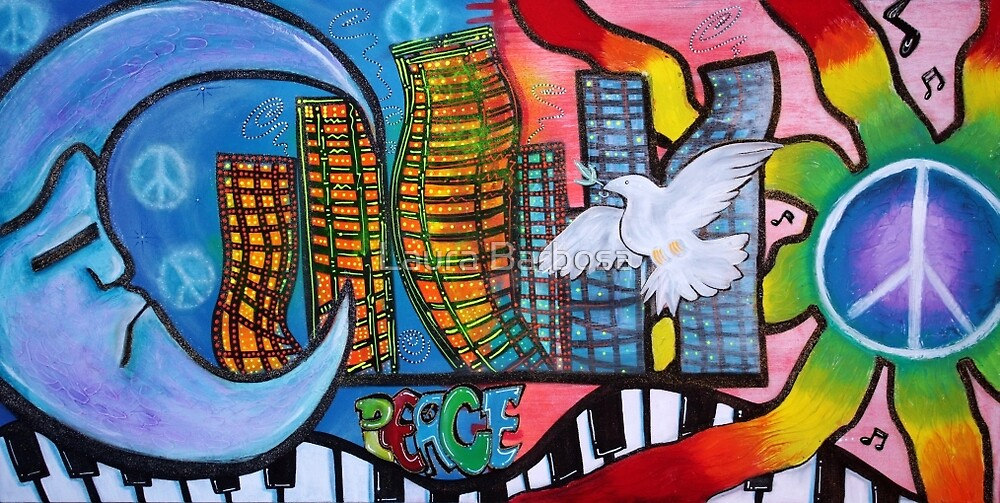 Peaceful City by Laura Barbosa