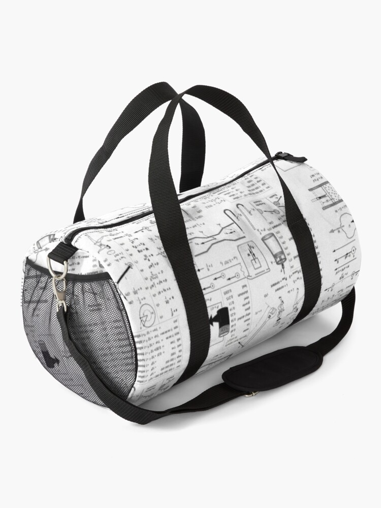 Alternate view of General Physics #General #Physics #GeneralPhysics Duffle Bag