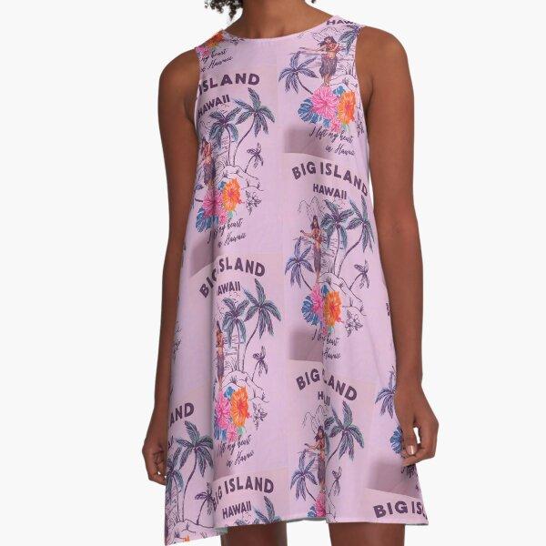 HAWAI A-Linien Kleid