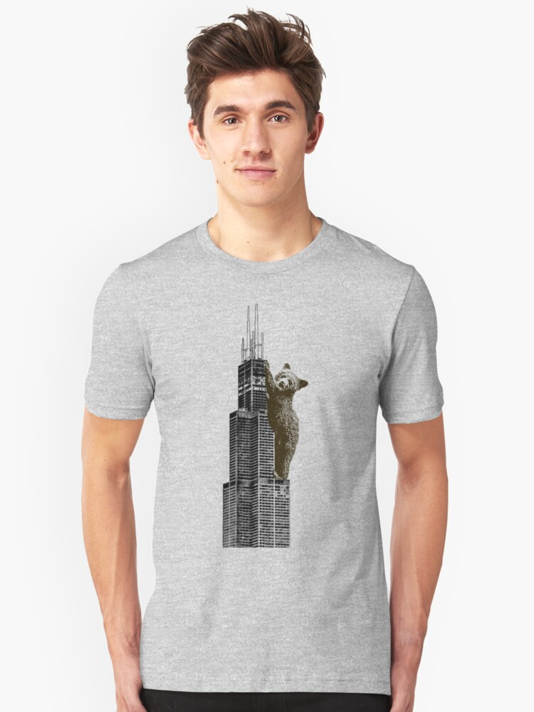 Sears Tower Cub Unisex T-Shirt Front