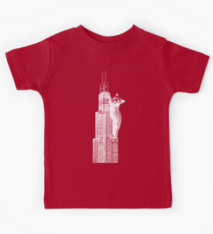 Sears Tower Cub_white Kids Clothes