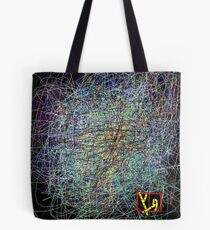 """Hungry Rhizomes 3"" by Richard F. Yates Tote Bag"