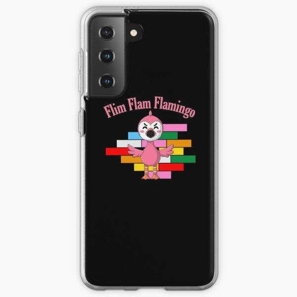 Flim Flam Flamingo Youtube Kids Dark Fitted Scoop' Essential  Samsung Galaxy Soft Case