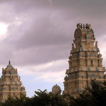 temples (Mauritius) by FedericoFaggion