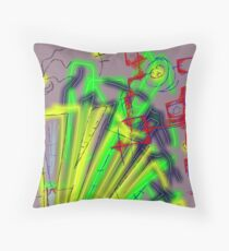 """""""Projection"""" by Richard F. Yates Throw Pillow"""